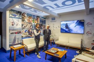 The award granted to the ClubSwan 36 approves the innovative nature of ACI Sail project