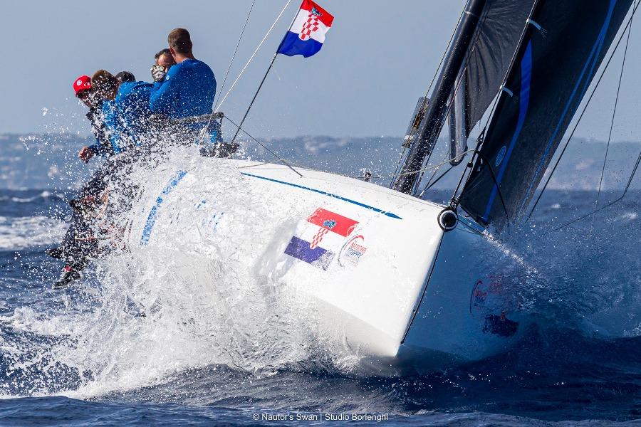 ACI Sail Summer cup, brand new ClubSwan 36 open regatta in Split, Croatia